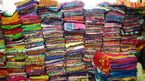 Fabrics, fabrics, fabrics!